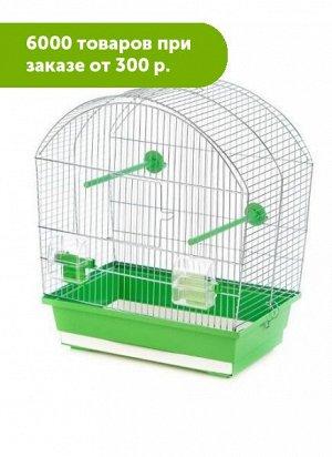 Клетка для птиц MEGI цинк 43*25*47см