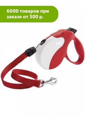 Рулетка AMIGO LARGE (шнур), красно-белая