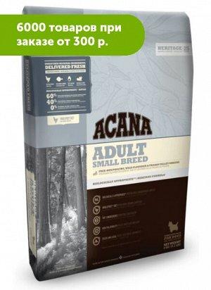 Acana Adult Small bread сухой корм для собак мелких пород 0,34кг