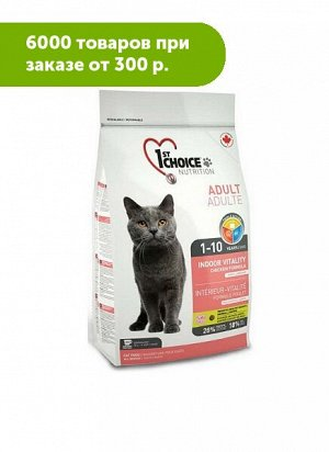 1'st Choice Indoor Vitality сухой корм для домашних кошек с Цыпленком 5,44кг