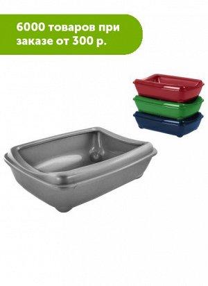 Туалет для кошек Zoo-M глубокий 43*30*12см