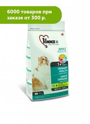 1'st Choice Urinary Health сухой корм для кошек для здоровья мочевыводящей системы Курица 340гр
