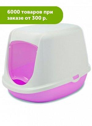 "Туалет-домик для котят ""Duchesse"" 44.5*35.5*32см, розовый Savic"