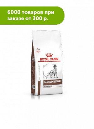 Royal Canin Gastrointestinal High Fibre диета сухой корм для собак с повышенным содержанием клетчатки при нарушении пищеварения 2кг
