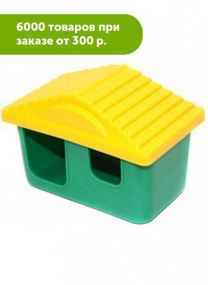 Домик для грызунов Зоо-М малый 11*8*7см