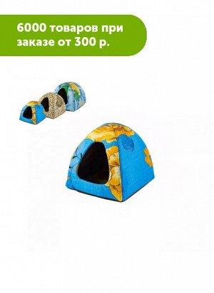Домик мягкий ЧИП Вигвам(M) 38*38*35 см (поликоттон, поролон)