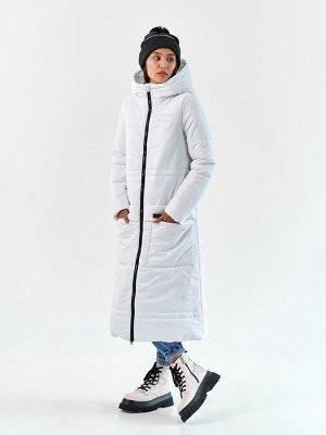 Пальто еврозима Макси белый
