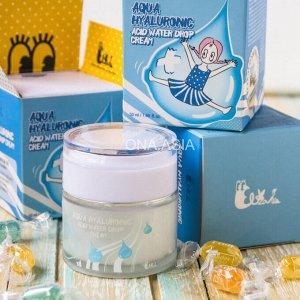 Увлажняющий гиалуроновый крем  для лица с гелевой текстурой Aqua Hyaluronic Acid Water drop cream