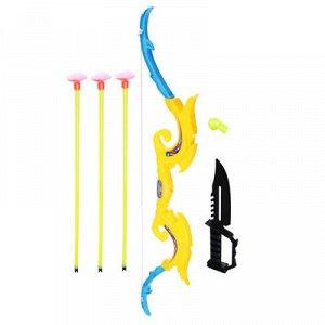 Набор игровой Оружие: Лук со стрелами, 6 пр., PP, PVC, 12х53х2см
