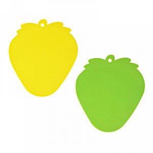 С VETTA Доска разделочная, в форме ягоды, 23x20x0,3см, полипропилен