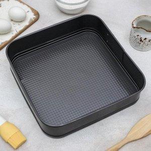 Набор форм для выпечки разъёмны? «Элин», 3 шт: 25 см, 21 см, 26 см, с антипригарным покрытием