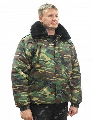 Куртка Норд тк.Смесовая Могилёв цв.Зеленый КМФ