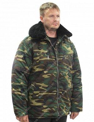 Куртка Пилот на меху тк.Смесовая Могилёв цв.Зеленый КМФ