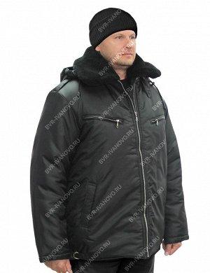 Куртка Пилот на меху тк.Оксфорд цв.Чёрный