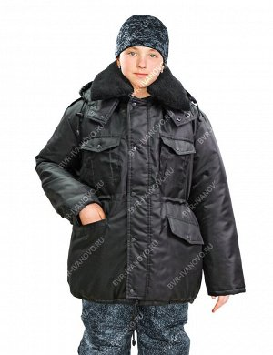 Куртка детская Зима цв.Чёрный