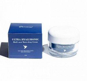 Интенсивно увлажняющий крем для кожи лица с экстрактом ласточкиного гнезда Ultra Hyaluronic Acid Bird's Nest Water-Drop Cream