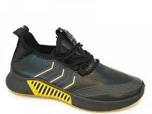Кроссовки В005-6 черн/желт
