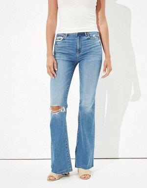 AE Super High-Waisted Flare Jean