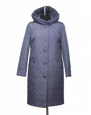 Пальто демисезонное стеганое женское