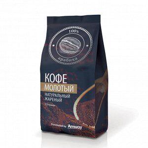"""Кофе Кофе натуральный молотый, """"100% Арабика"""", среднеобжаренный, созданный специально для любителей бодрящего и ароматного кофе! Кофе отличается сбалансированным вкусом с легкими шоколадными и ореховы"""