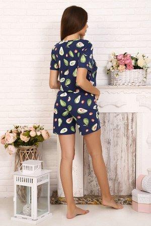 Пижама ткань: кулирка  состав: 100% хлопок Симпатичный пижамный костюм, выполнен из мягкого и нежного хлопкового волокна, подарит Вам комфорт после долгого напряженного дня. Костюм состоит из майки и