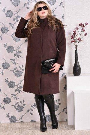 Пальто 0169 коричневый кашемир (разные версии)