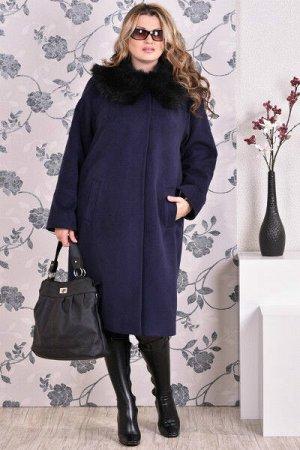 Пальто 0151 синий кашемир (разные версии)