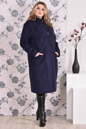 Пальто 0168 синий кашемир (разные версии)