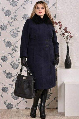 Пальто 0199 синий кашемир (разные версии)
