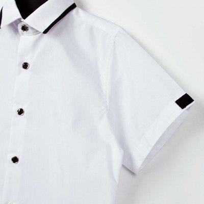 Новый бренд: Школа без рядов/гарантия цвета — МАЛЬЧИКИ РУБАШКИ КОРОТКИЙ РУКАВ — Одежда для мальчиков