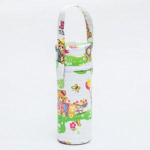 Контейнер для классических бутылок (пенопласт), цвет МИКС