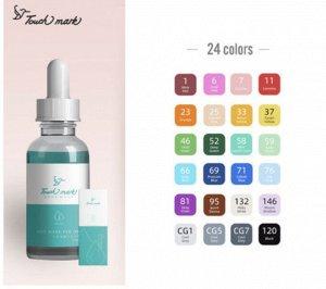Заправка для маркеров Touch mark набор 24 цвета