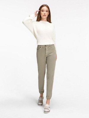 Женские джинсы VL558-M A.11 светло-оливковый