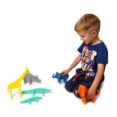 Я расту TOYS — яркие игры и развивашки для детей — Конструкторы ТМ  El'BascoToys — Конструкторы и пазлы
