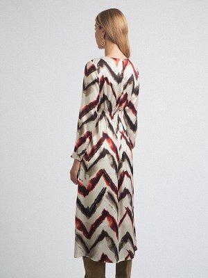 Платье с принтом PL1111/vilam