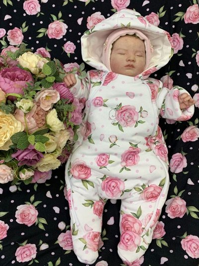 Luxury Baby — С Любовью к малышам, Одежда, выписка, Кружево — Утепленные комбинезоны