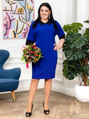 Платье Фиолет,василек, бордо, кофе , синий. Вискоза - 70%, Полиэстер - 30%