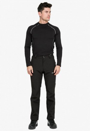 Мужские осенние весенние виндстопер черного цвета 1868Ch