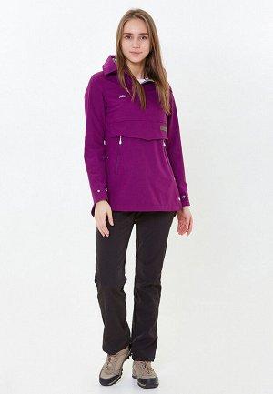 Женский осенний весенний костюм спортивный фиолетового цвета 01914F