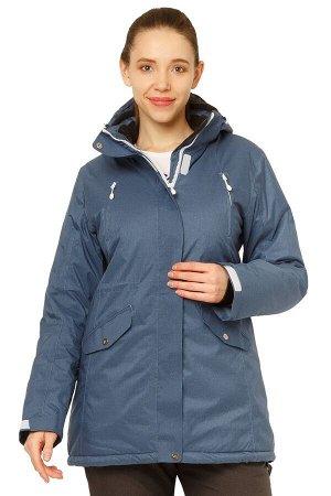 Женская зимняя горнолыжная куртка голубого цвета 1783Gl