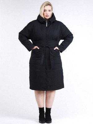 Куртка зимняя женская классическая черного цвета 110-905_701Ch
