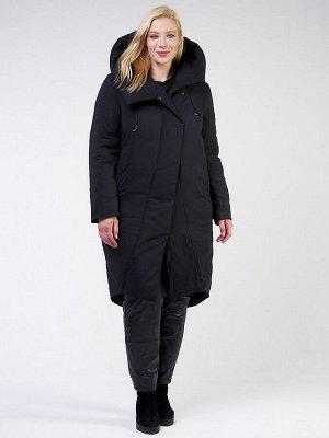 Куртка зимняя женская классическая черного цвета 118-932_701Ch