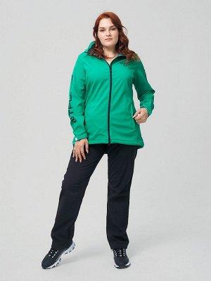 Костюм женский MTFORCE большого размера зеленого цвета 02003Z