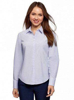 Рубашка хлопковая базовая Oodji