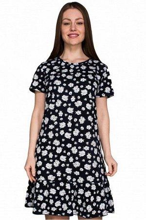 Платье 994 ромашка волан