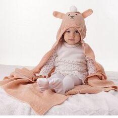 ❤ Журавлик - Нежные шапочки! С любовью к детям  ❤ — Детские Пледы — Аксессуары
