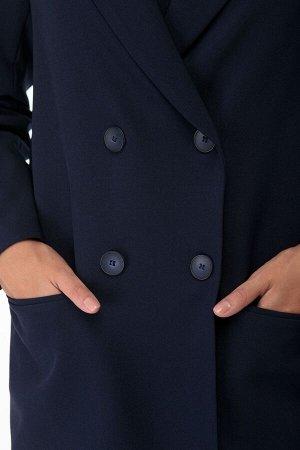 Костюм Костюм ANELLI 872 синие тона  Состав: Спандекс-3%; Хлопок-66%; Нейлон-31%; Сезон: Весна-Лето Рост: 164  Брючный комплект выполнен из костюмной ткани в чёрном, синем, зелёном и светло-сером отт