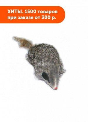 """Мышь 4"""" пищащая 10см"""