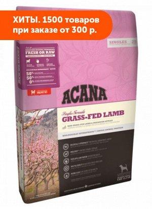 Acana Grass-fed lamb сухой беззерновой корм для собак Ягненок с яблоком 6кг