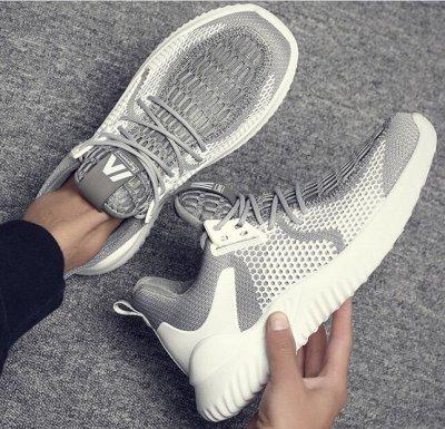 Удобная парочка. Обувь на все сезоны! Акция - низкая цена. — Мужские Кеды и кроссовки. — На шнуровке